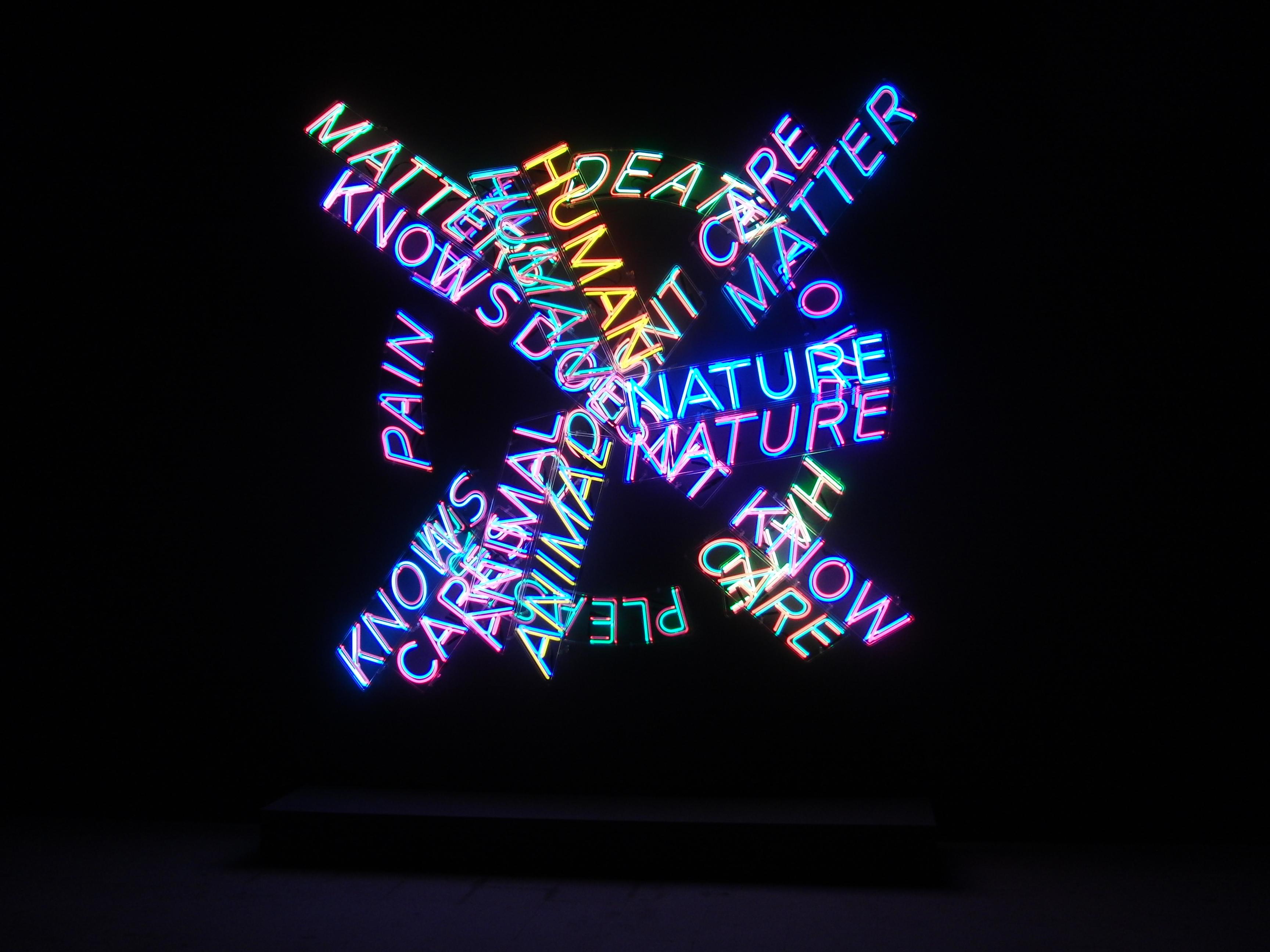 30 Bruce Nauman inside the Arsenale Venice Biennale 2015