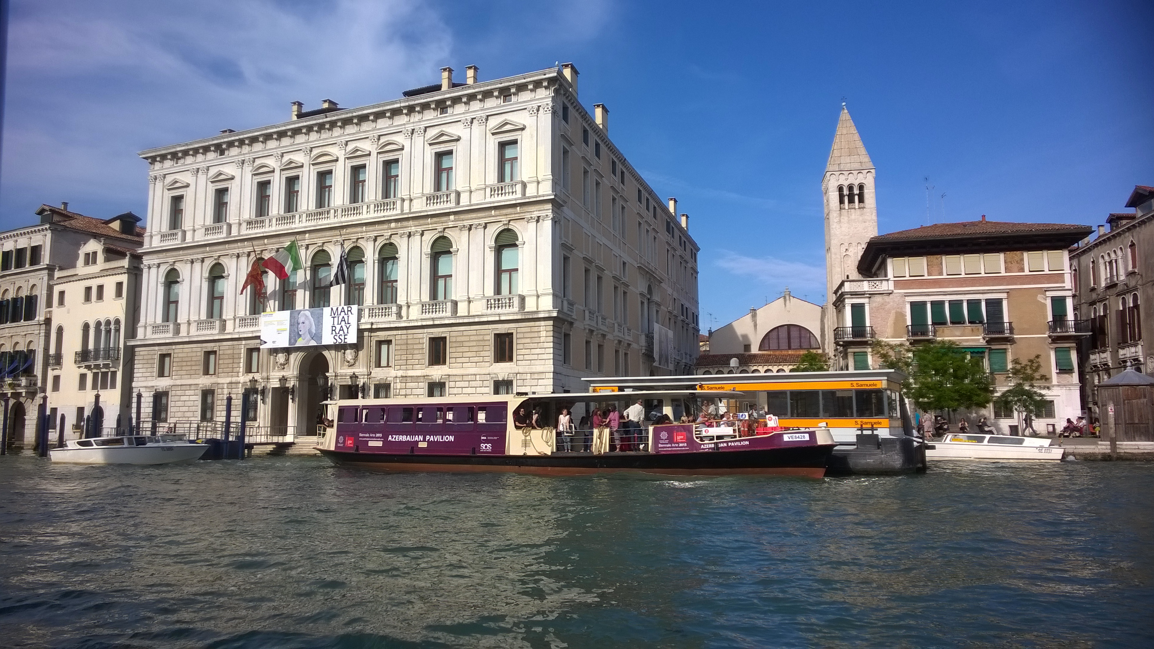 32 Vaporetto in livery for Biennale 2015