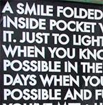 54 a smile folded
