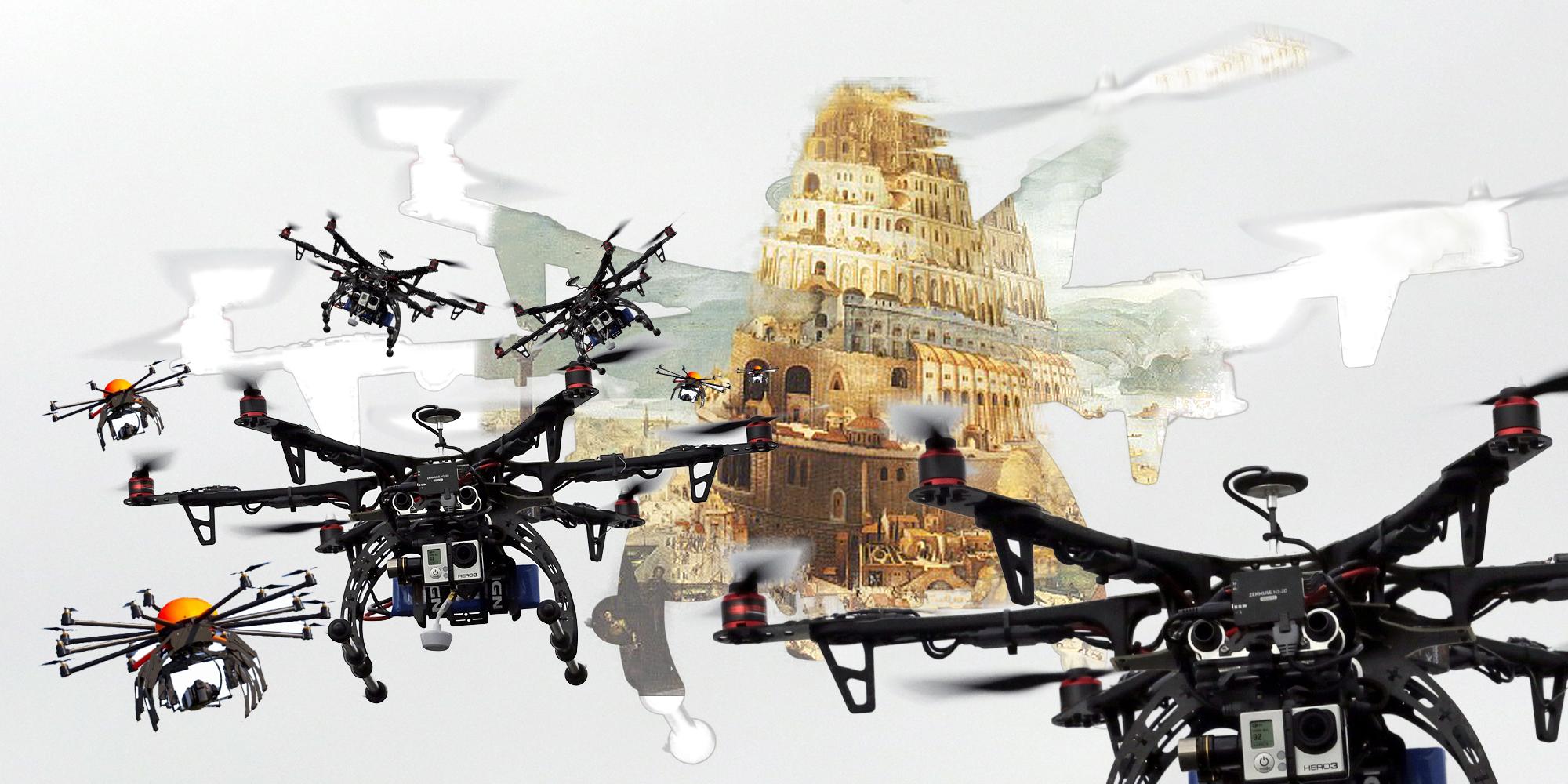 Drone city 5