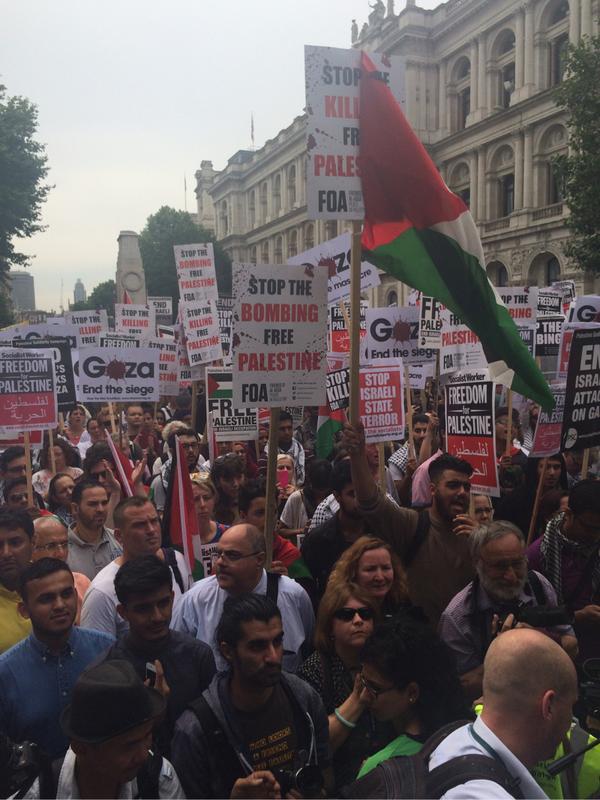 Gaza rally 2