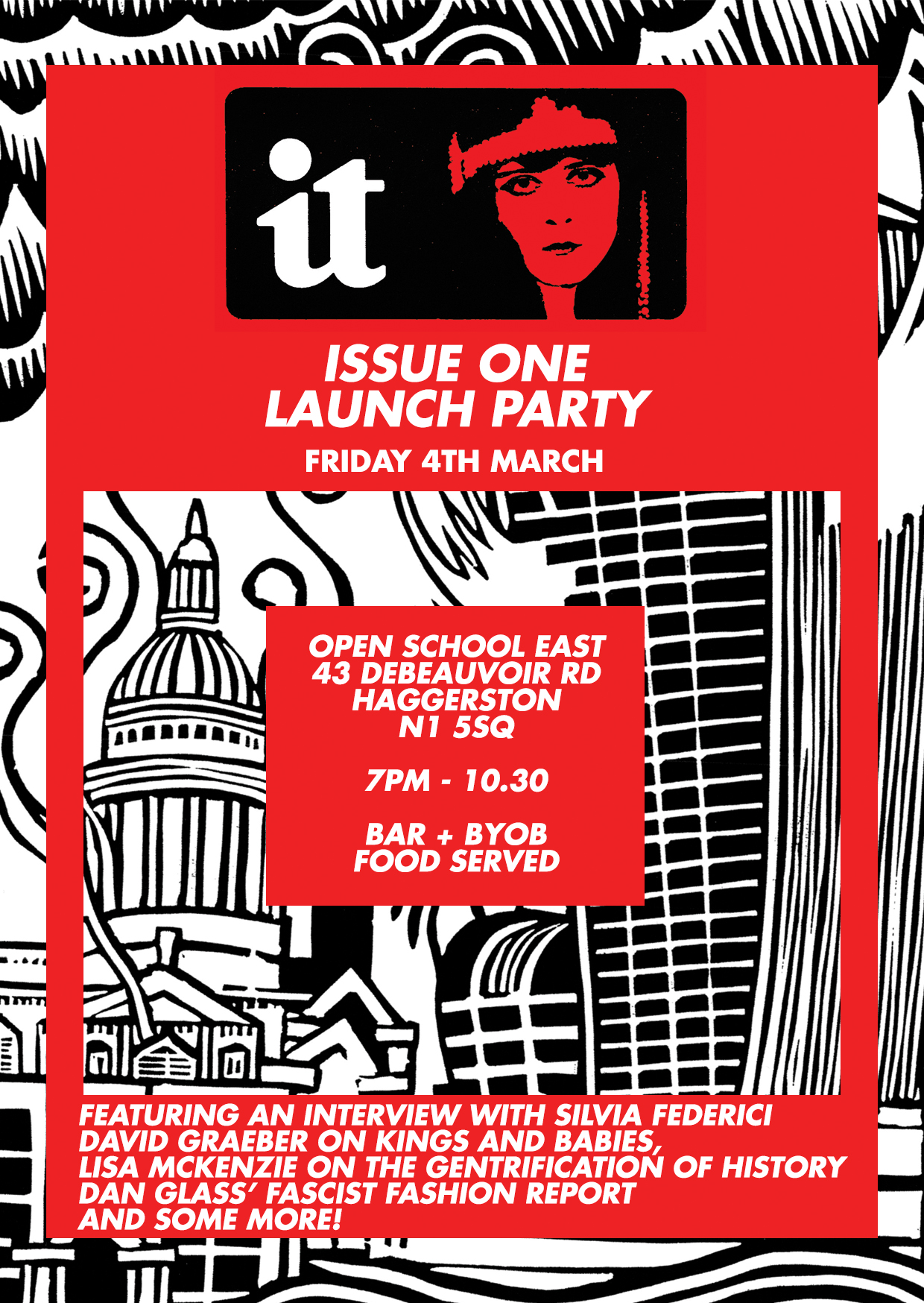 Launch Party flyer NEW