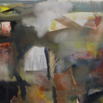 Trehudreth  Goucahe and Oil Pastel  56.5 x 75