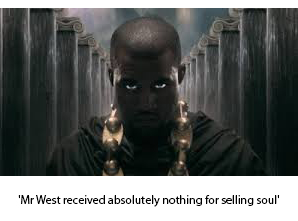 Kanye West Sues Satan After Getting Nothing For Selling Soul