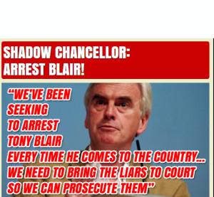 arrest blair x
