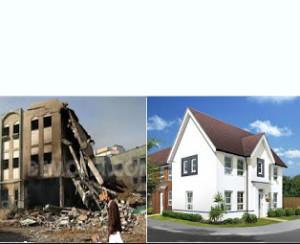 barrat House bombed house 3