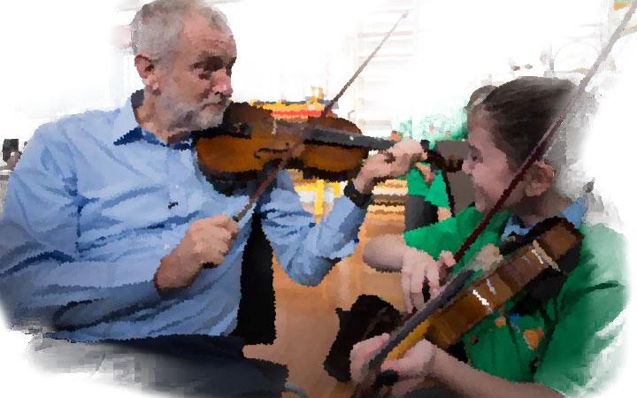 corbyn-playing
