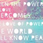 love peace