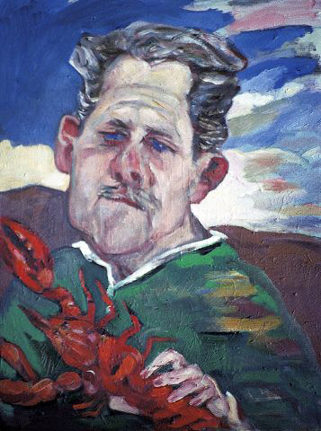 selfportraitwithlobster198290x60